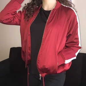 Forever 21 Utility red jacket♥️